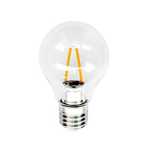 LED-pære Filament E27 2W (60 mm)