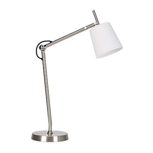 Bordlampe Design White
