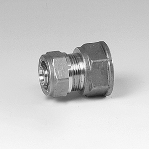 3/4 x 18mm union for PEX rør