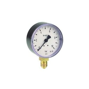 1/4 MANOMETER 63 0-16 BAR NED