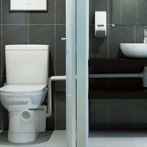 KLOSETTPUMPE SANIACCESS 2 WC VASK